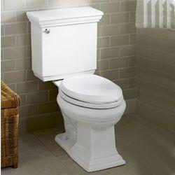 new toilet by Kohler
