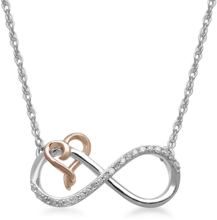FINE JEWELRY Hallmark Diamonds 110 CT TW Diamond Sterling Silver