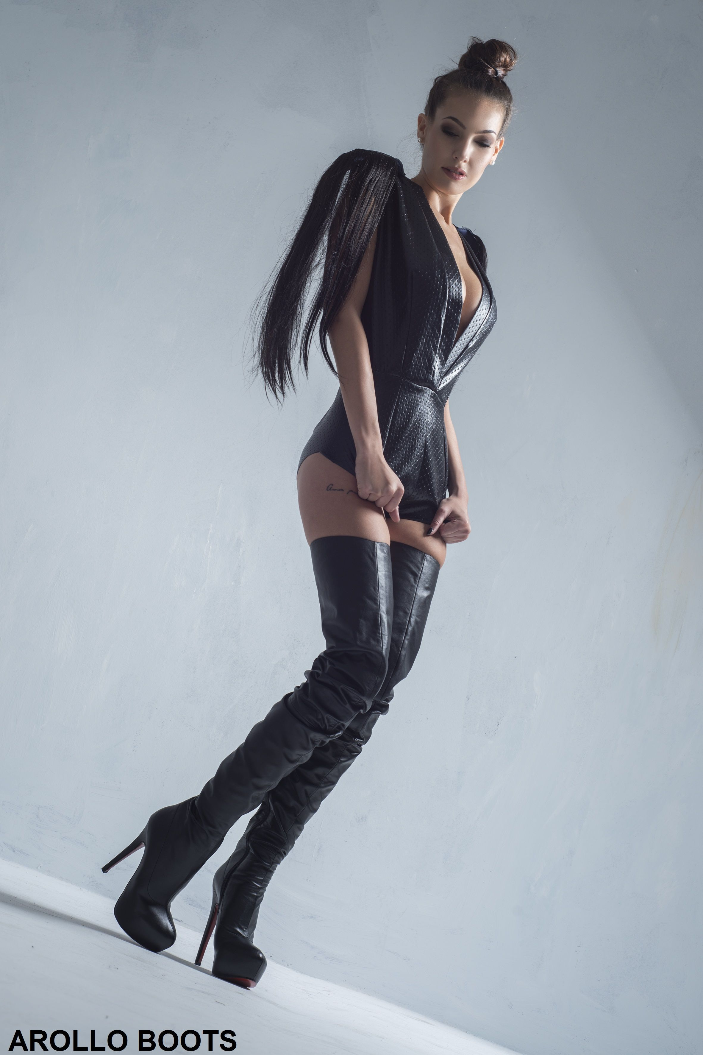 Arollo Leather Heeled Boots 692b674f9ddb7ce45c0573f26c25c618