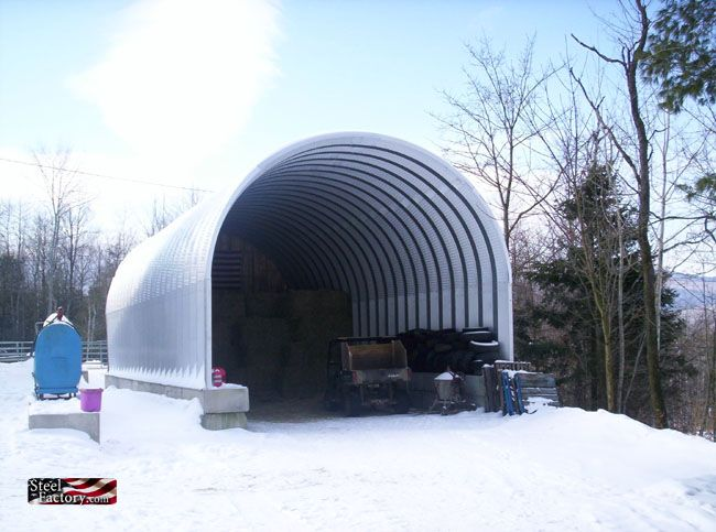 S Series Arch Buildings Pictures Straight Wall Round Roof Steel