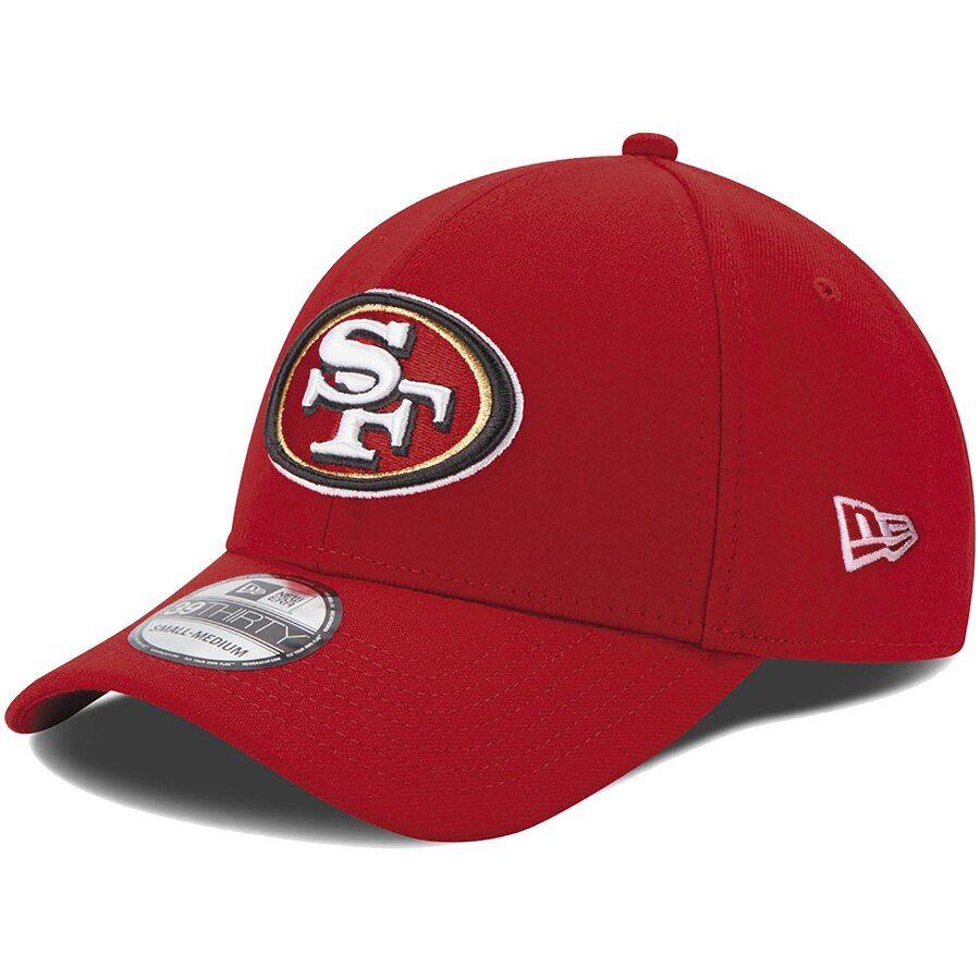 Mens san francisco 49ers new era scarlet 39thirty team