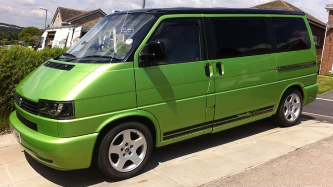 vw t4 vw viper green campervan refresh volkswagen. Black Bedroom Furniture Sets. Home Design Ideas