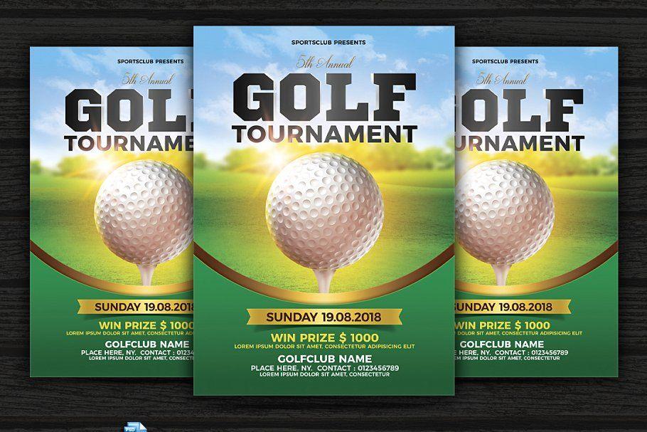 Golf Tournament Flyer Golf Tournament Flyer Tournaments