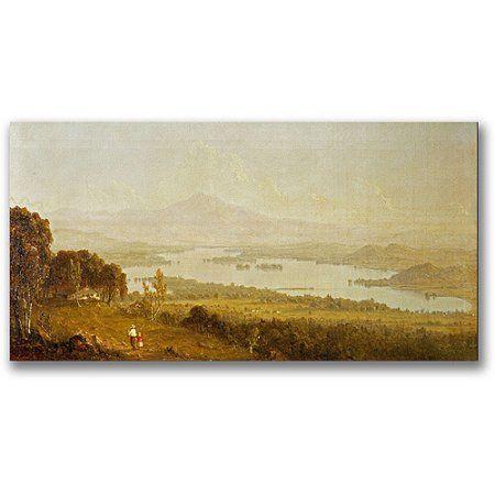 Trademark Fine Art Lake Winnipiegee Canvas Wall Art by Sanford ...