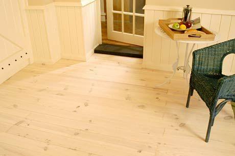 Grenen vloerdelen met witte olie grenen vloeren