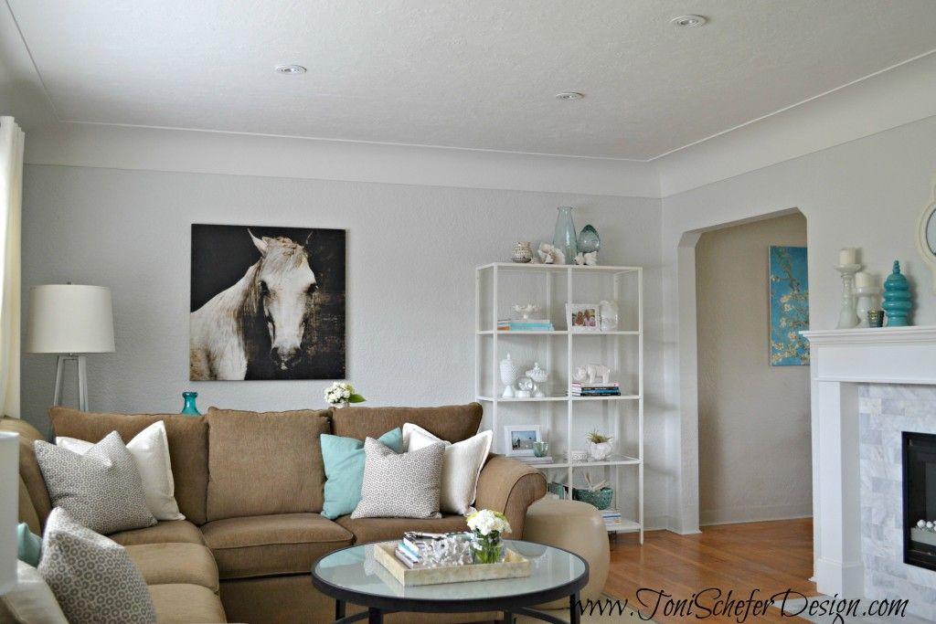 Best Top 4 Benjamin Moore Soft Grays Contemporary Living Room 400 x 300