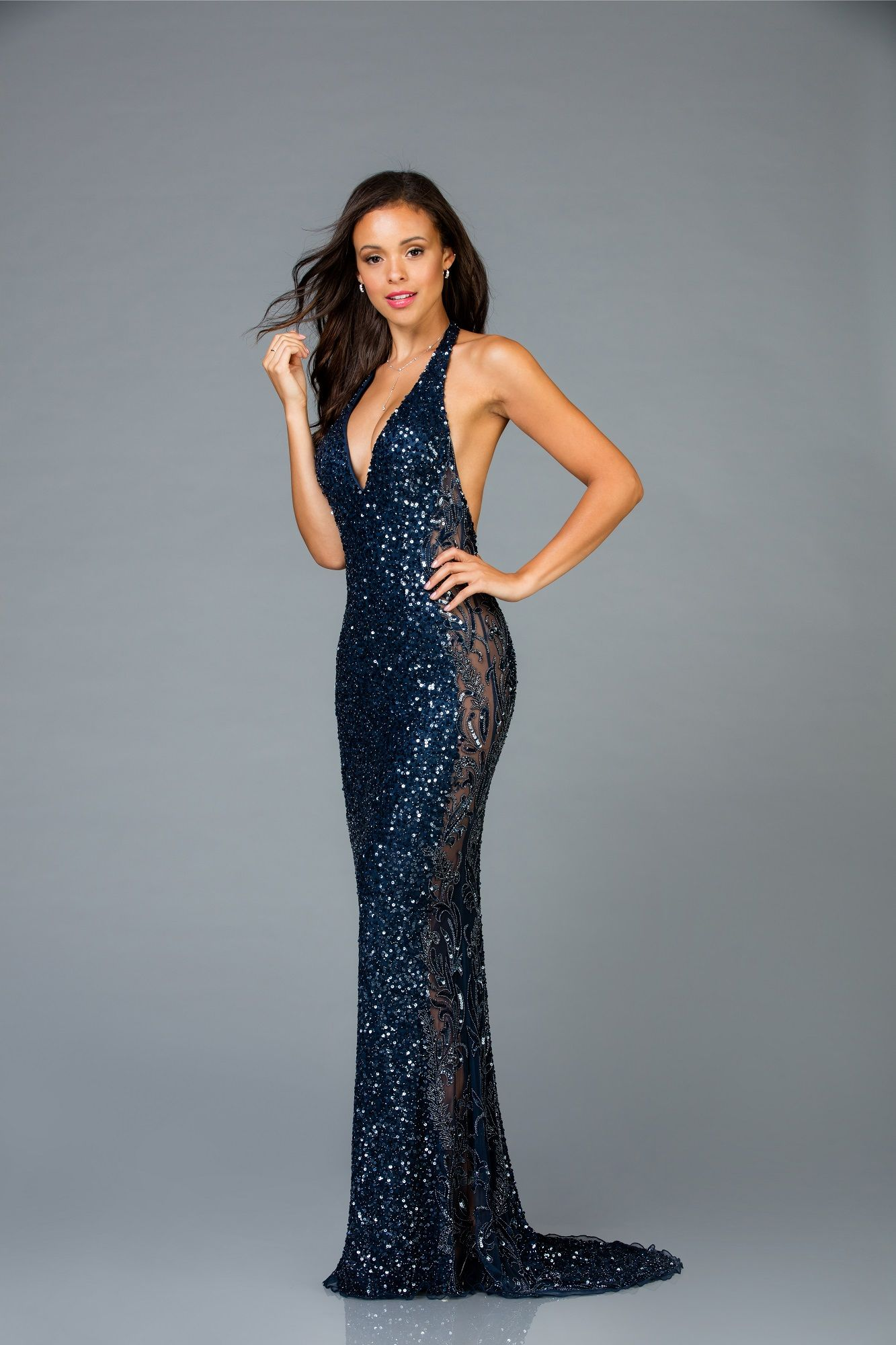 4c19029478a Style 48959 Navy available at Blush Bridal   Prom - Concord
