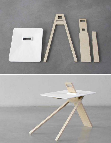 FlatPack Furniture 3 Modern Designs from Noon Studio  details