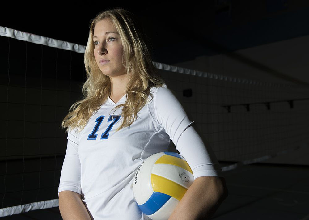 Ucla Volleyball S Karsta Lowe Went From Walk On To Top Player Volleyballs Ucla Walk On