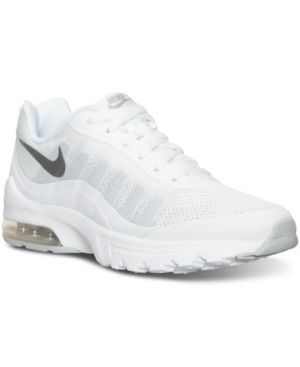 newest f7bab 57ed0 Nike Womens Air Max Invigor Running Sneakers from Finish Line - White 6.5
