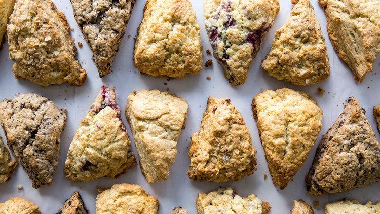 BA's Best Cream Scones Recipe   Bon Appetit