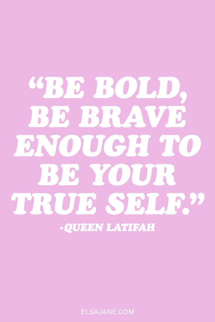 Celebrate self love with this inspirational quote from Queen Latifah
