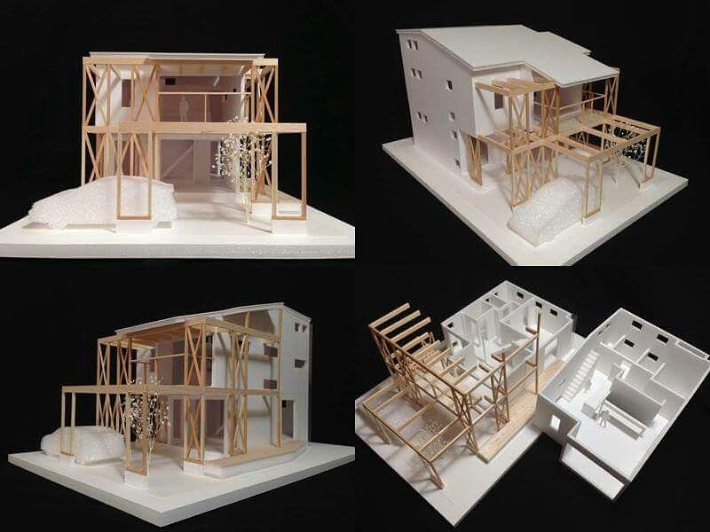 S 1 50住宅模型です ノ Youtube動画 建築模型の作り方