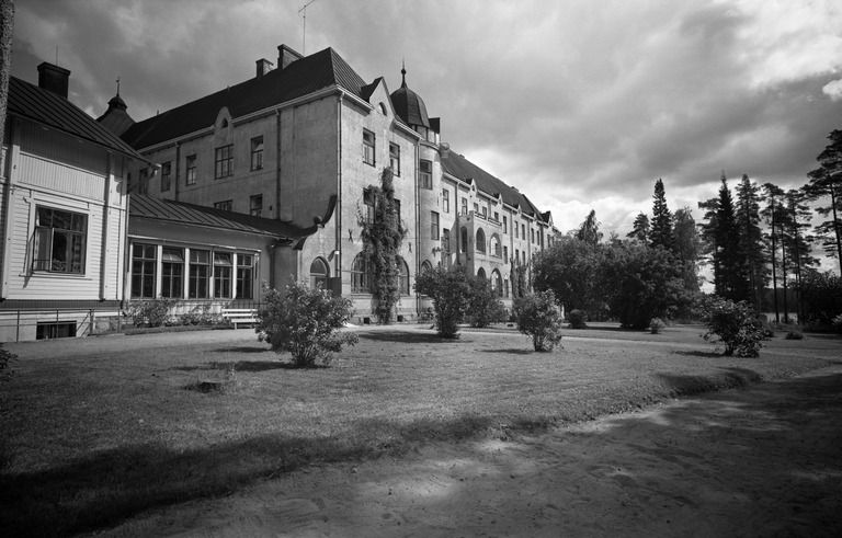 Röykän sairaala,  Parantolantie.  Hakli Kari 1971 Helsingin kaupunginmuseo