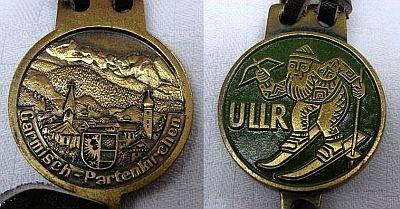 Ullr medal-Garmisch