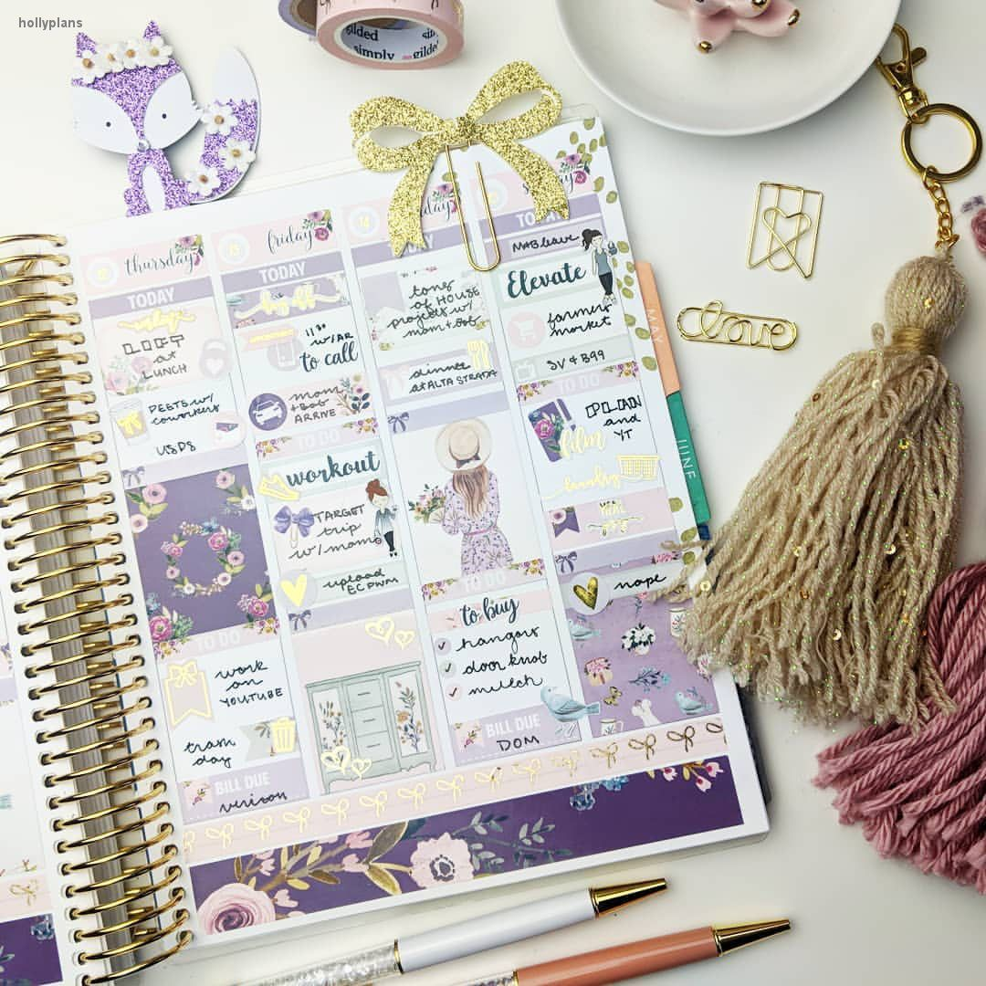 eclp erin condren inspired ideas and inspiration for