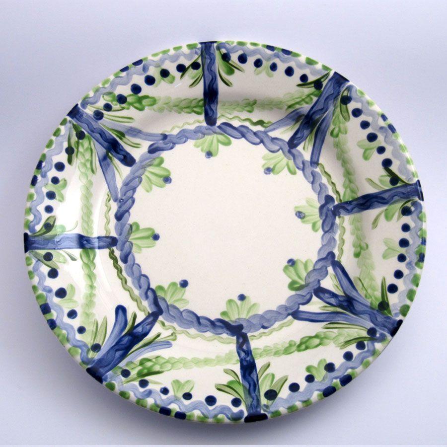 Alle Speiseteller Unikate der Familie VertBleu! Die Grün-Blaue Designfamilie von Unikat-Keramik. Das wohl einzigartigste Keramik Geschirr der Welt!