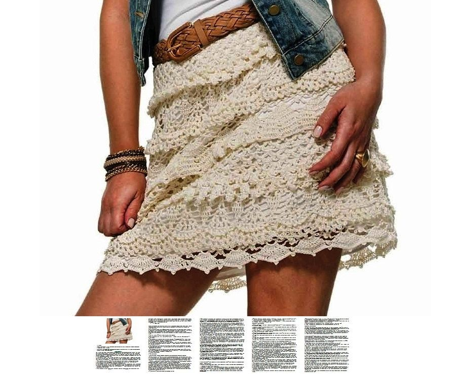Sexy Skirt Crochet Pattern Written Tutorial In English For Every
