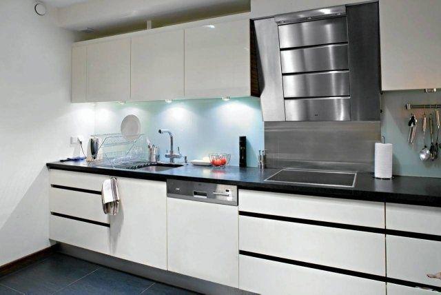Ciemna Podloga W Kuchni Szukaj W Google Home Decor Kitchen Cabinets Kitchen