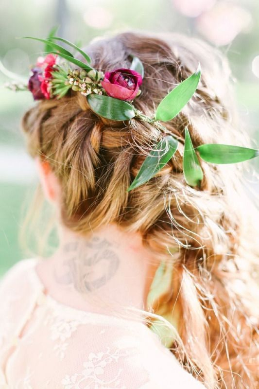 Fall Wedding Hairstyles 4
