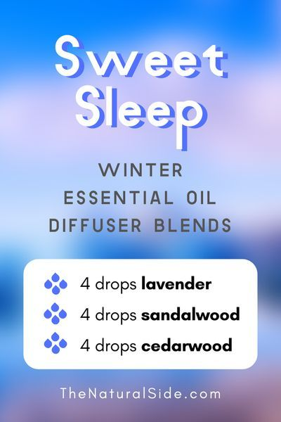 Sweet Sleep  Winter Essential Oil Diffuser Blends  Essential Oils via