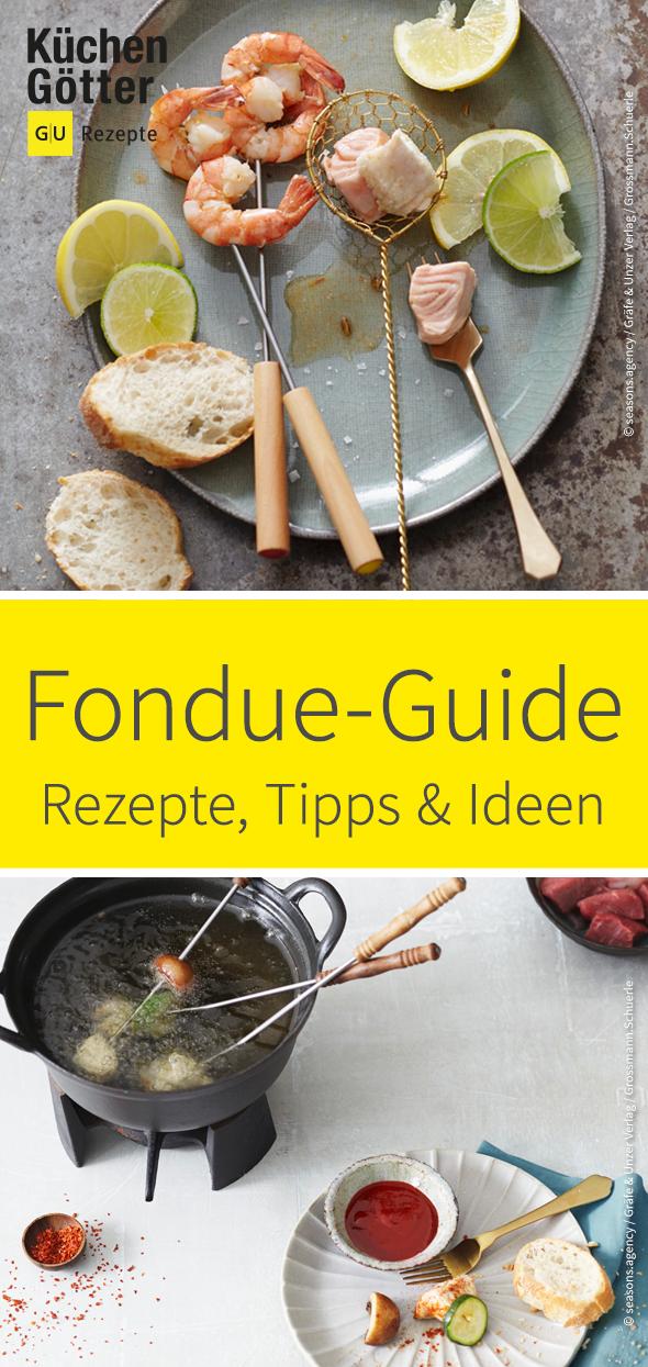 Hier findest Du alles rund um's Thema Fondue: leckere Rezepte, Tipps, Tricks & vieles mehr. #fondue
