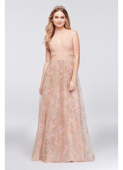 f8a954acd5e Long A-Line Spaghetti Strap Formal Dresses Dress - Xscape