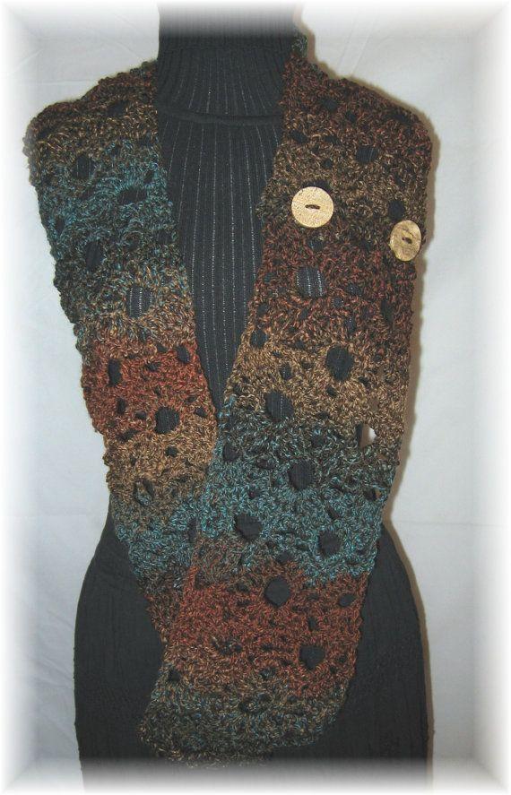 Convertible Infinity Scarf Crochet Pattern - PDF file pattern ...