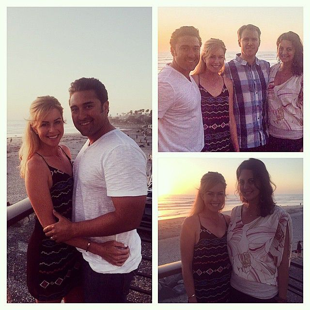 Double date tonight with @dani__ela___  love being back in Cali!! #PacificCoastGrill #sunset #Encinitas