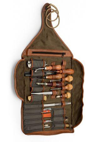 Leatherworking tool roll