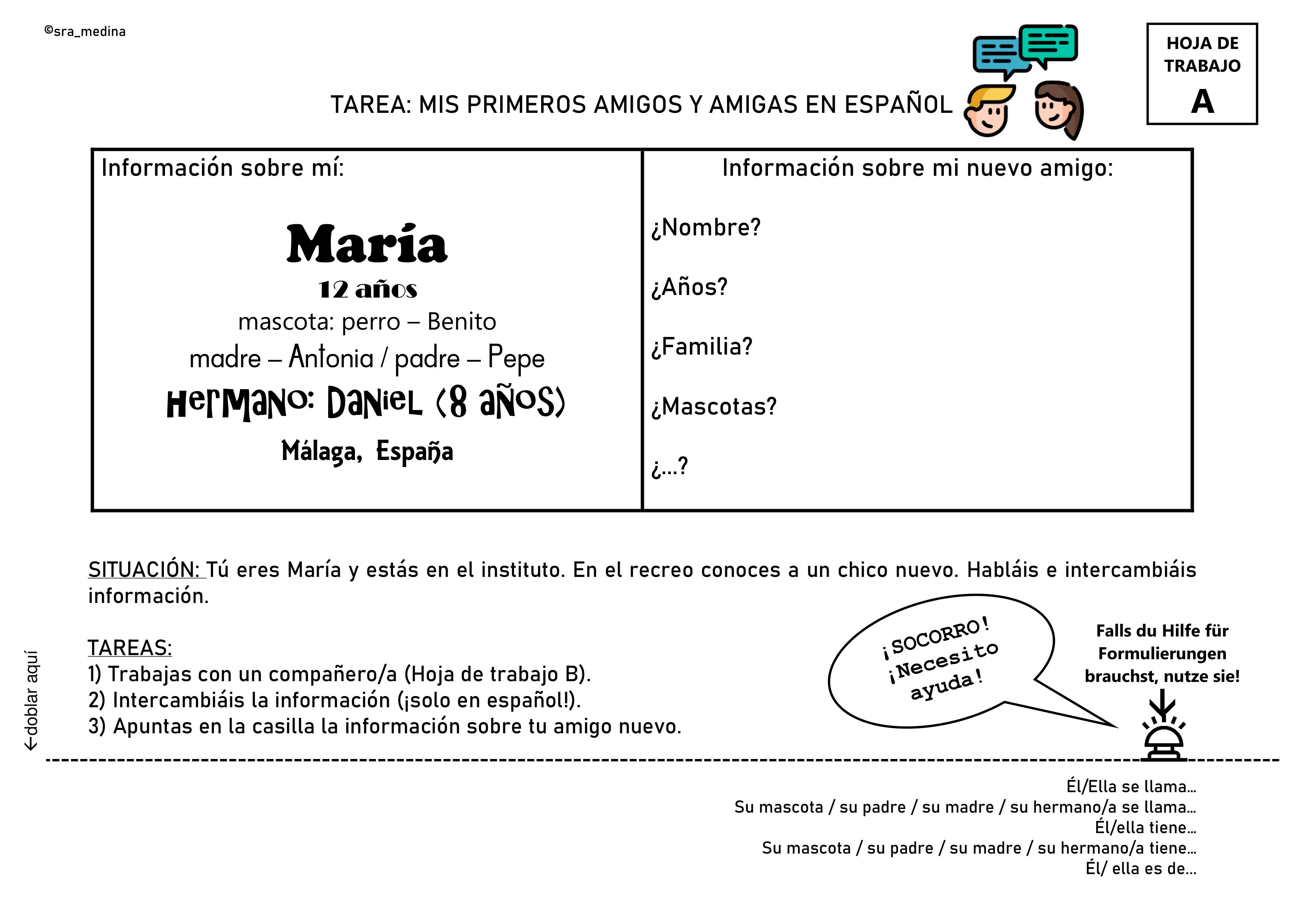 Pin Auf Spanisch Sekundarstufe Unterrichtsmaterialien