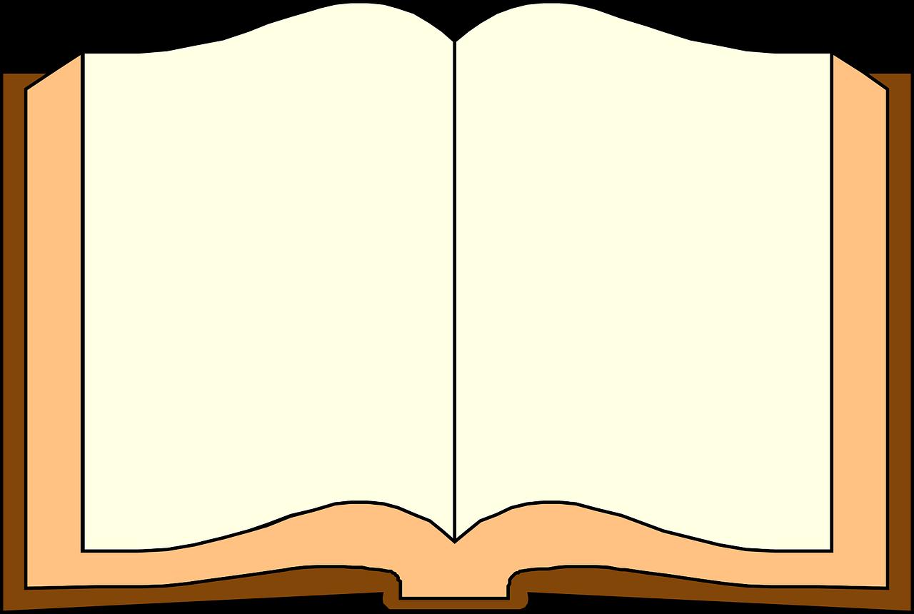 Картинка открытой книги