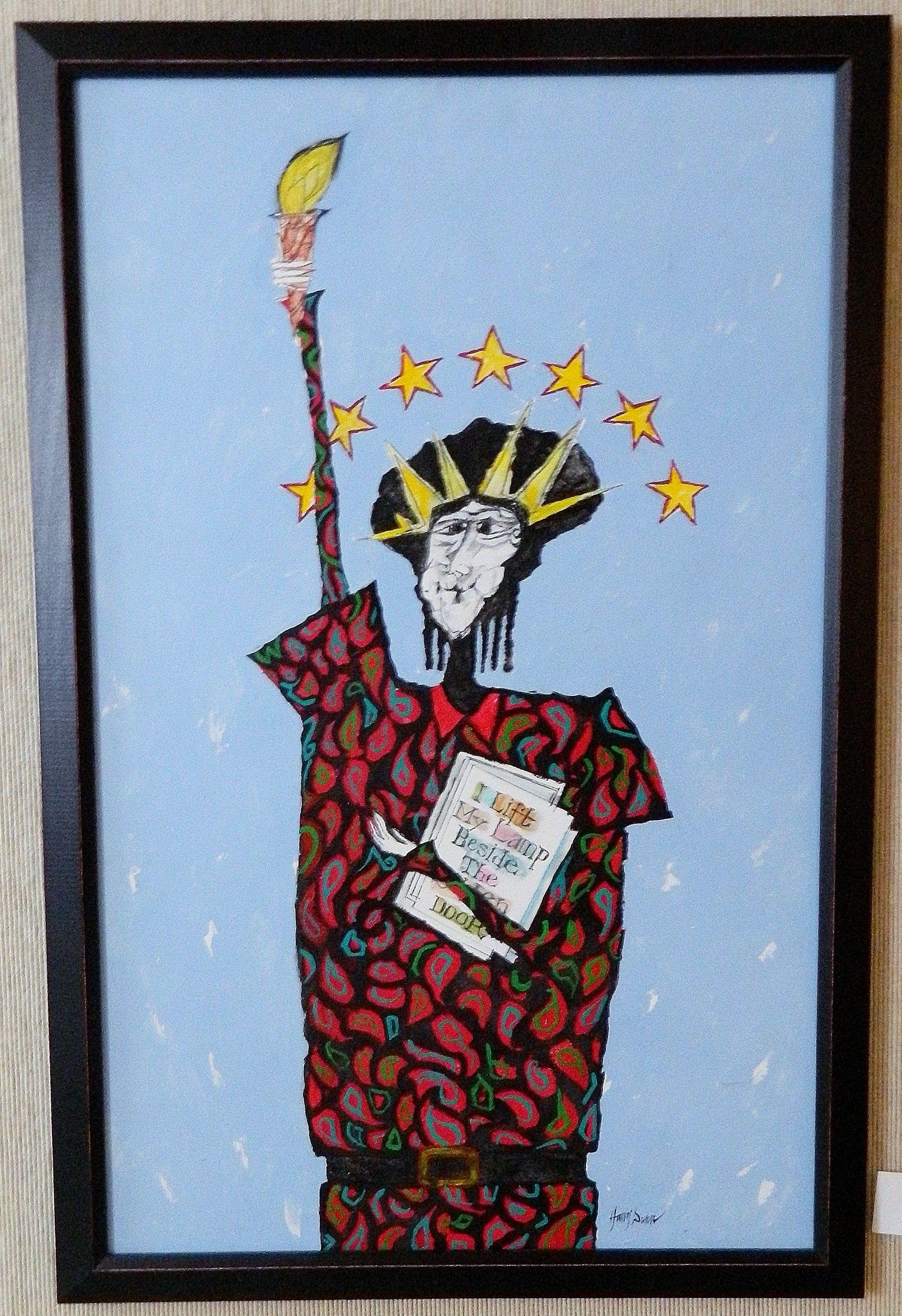 Miss Liberty Harry Dunn Harry Dunn Art Gallery Fine