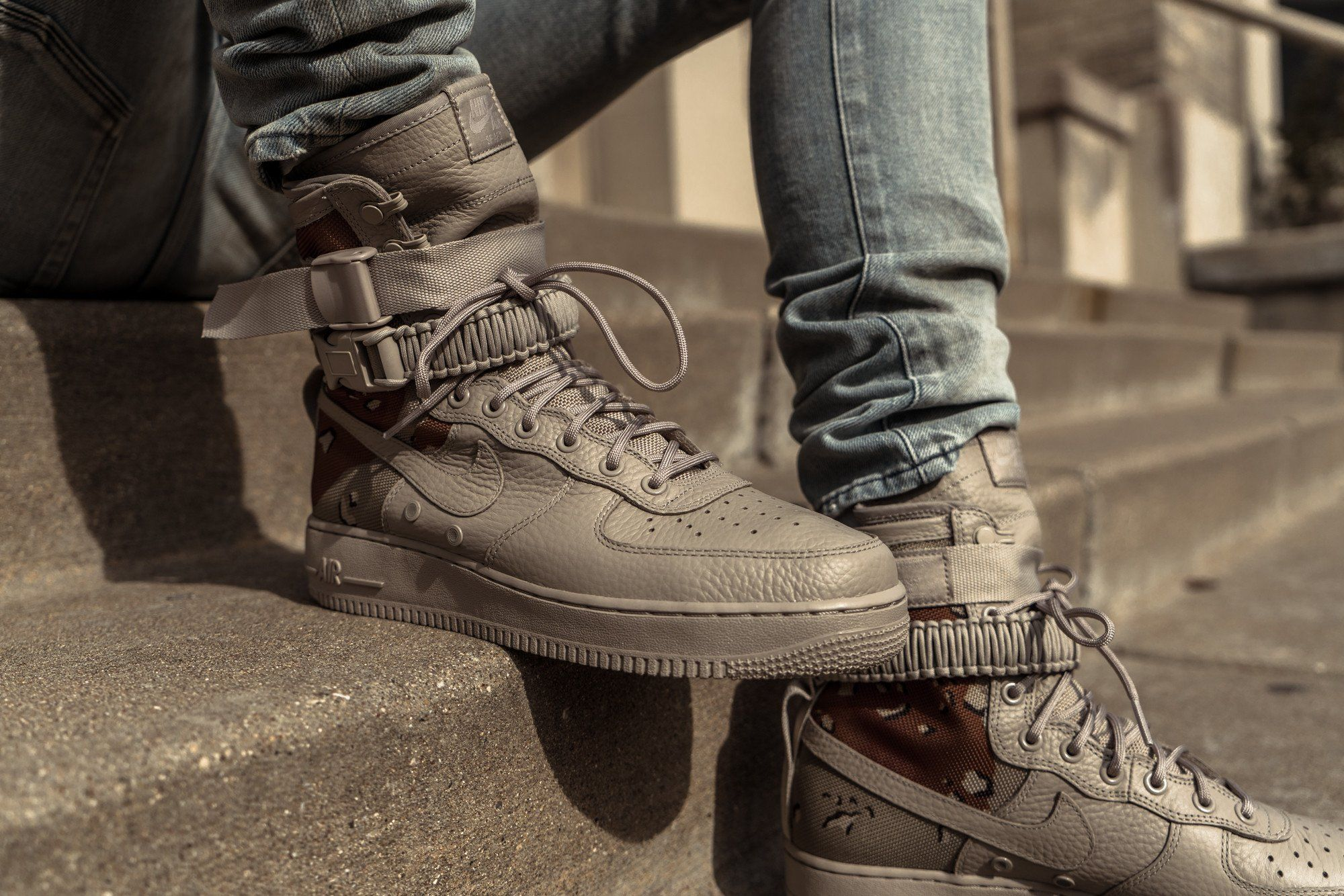 Nike Special Field Air Force 1 Desert Camo Nike Sf Af1 Desert Camo Boots