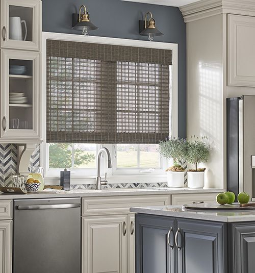 Kitchen Window Furnishings: Natural Textures For The Home