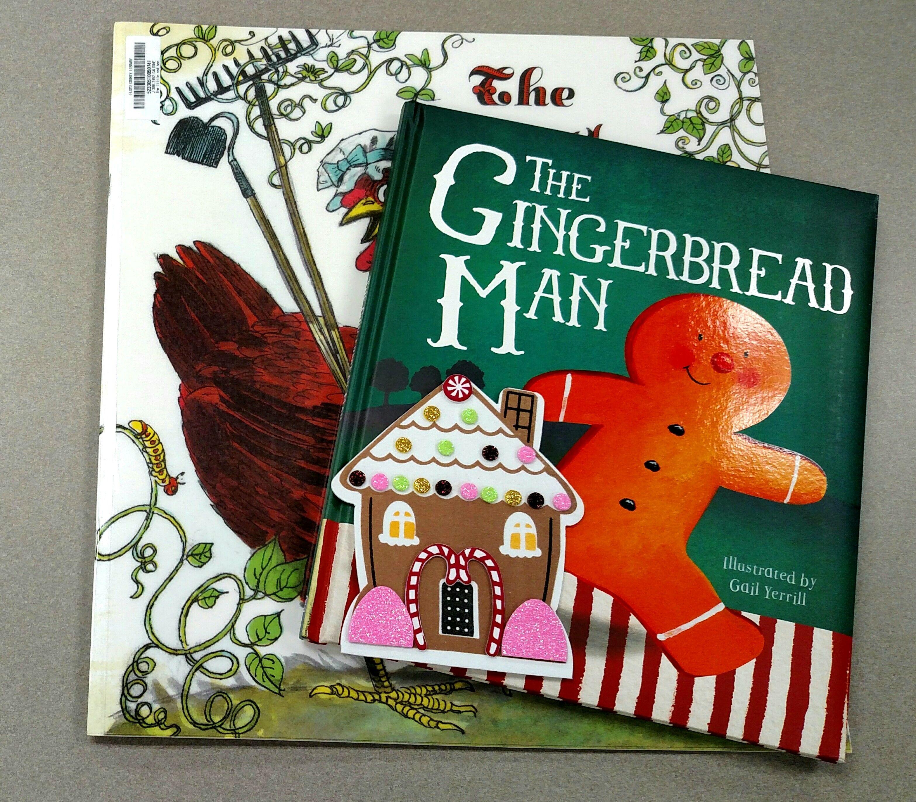 Single Post Gingerbread man story, Gingerbread man
