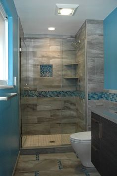 Master Bath Walk In European Shower   Contemporary   Bathroom   Denver    Kitchen Masters Design Ideas