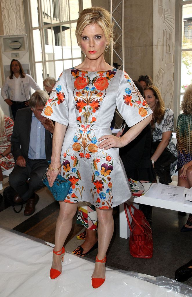 Emilia Fox attends the Temperley London show during London Fashion Week Spring Summer 2015 at  on September 14, 2014 in London, England.