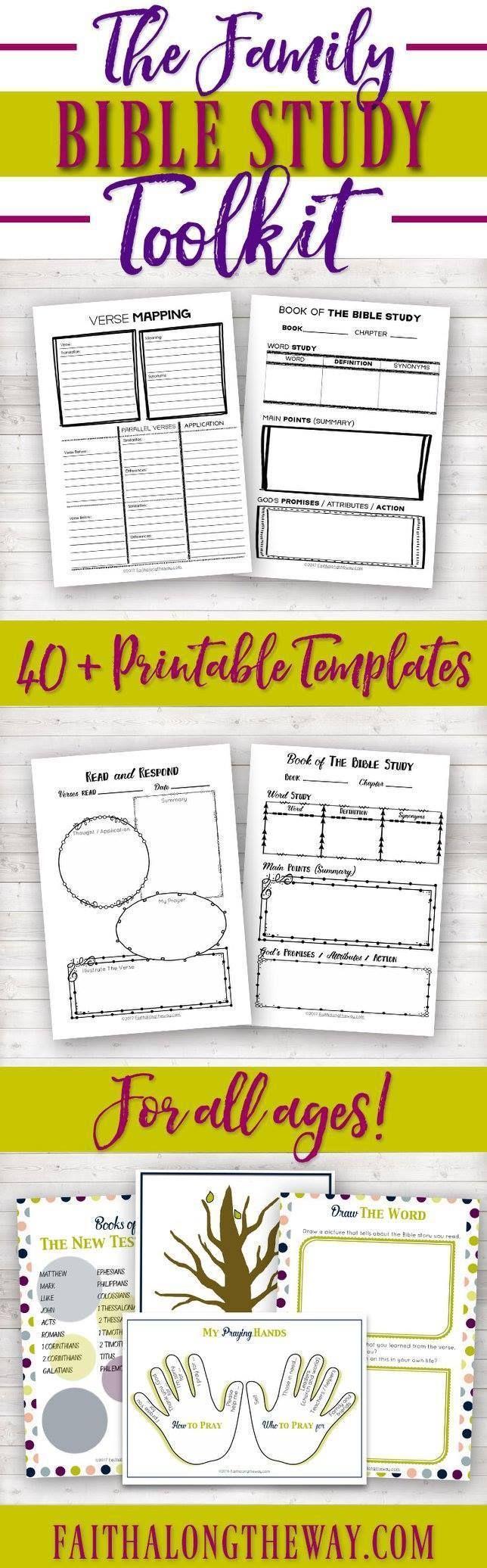 7 free devotional worksheets - instant download PDF - for ...