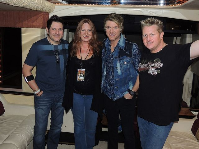With Rascal Flatts Flickr - Photo Sharing!