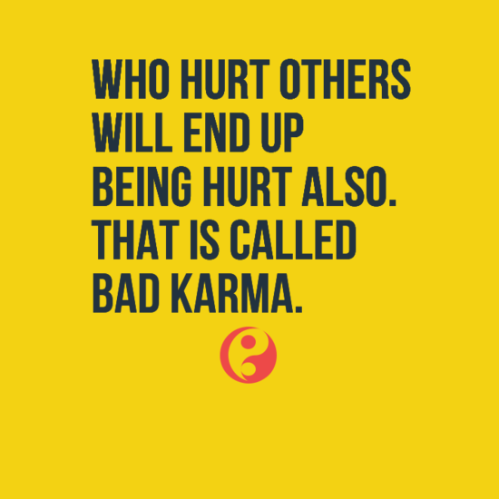 Bad People Quotes: Karma Quotes - LoveQuotesMessages