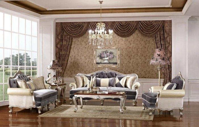 wohnideen wohnzimmer luxuriös und gemütlich Wohnzimmer Ideen