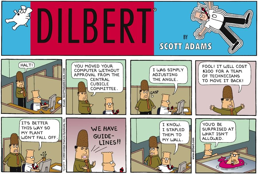 Dilbert daily strip