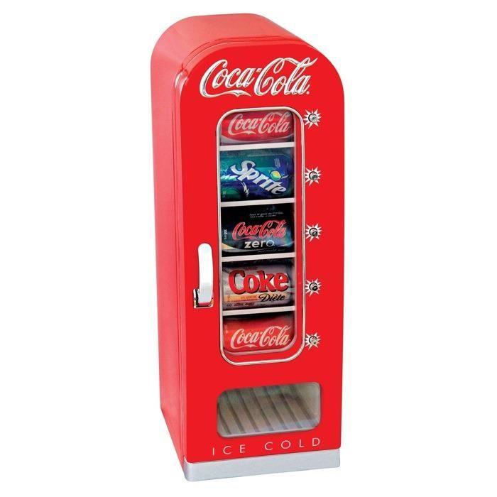 FREE SHIPPING Coke Coca-Cola Nostalgia Design Lock Top Storage//Bank Tin