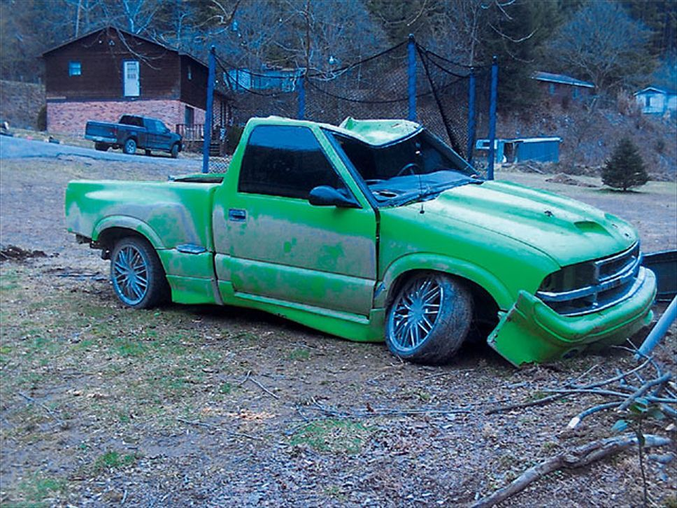 Chevrolet S10 this baby just needs love. | My dream cars | Pinterest ...