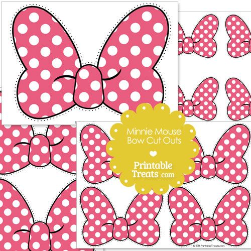 photo about Minnie Mouse Bow Printable identify Crimson Minnie Mouse Bow Minimize Outs towards