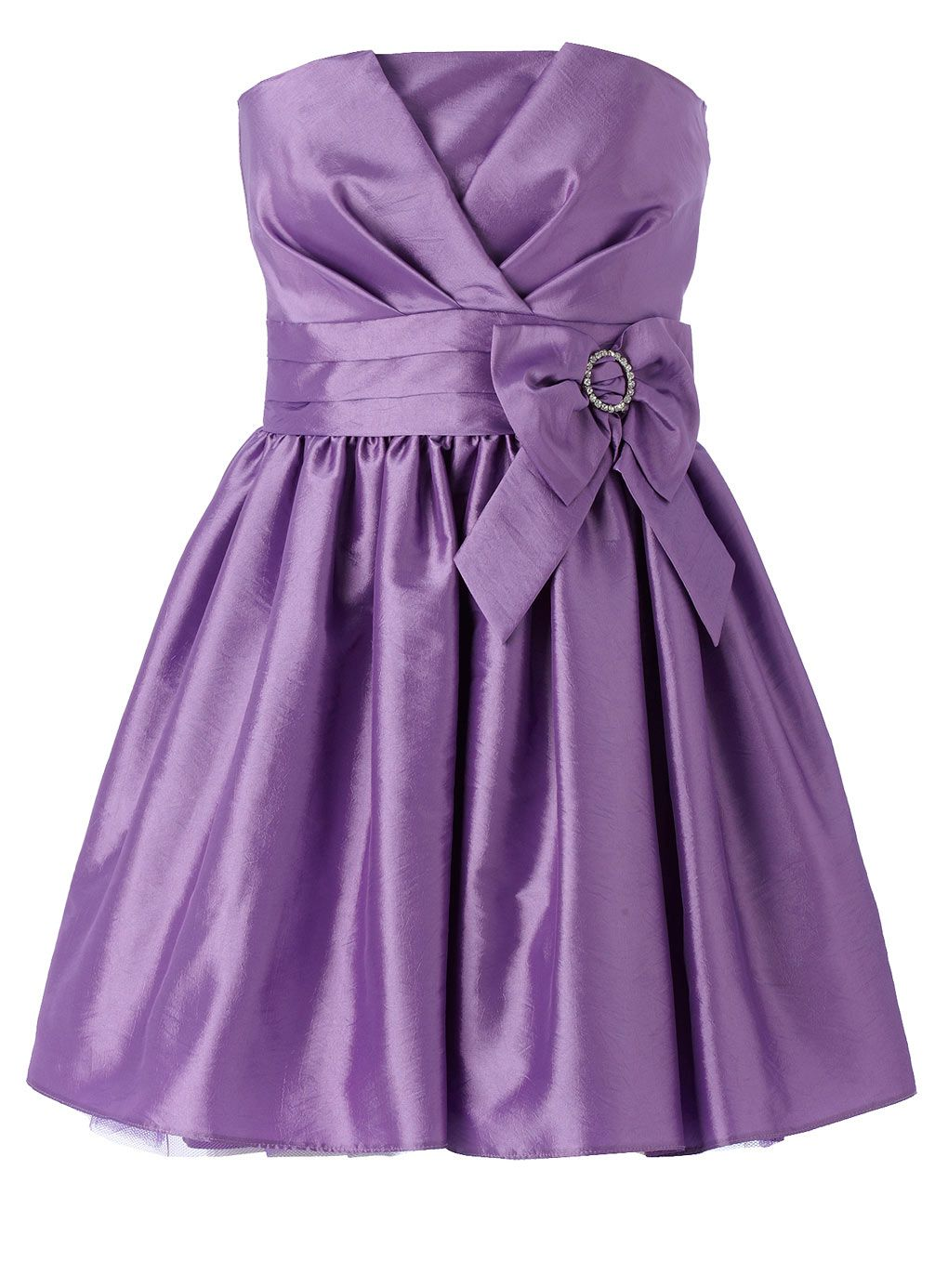 Lilac Bow Buckle Pleat Prom Dress - older girls (8-16) - special ...