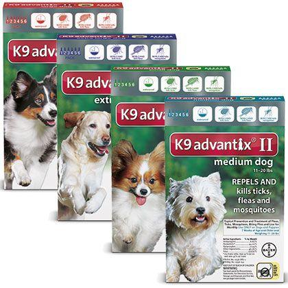 K9 Advantix Ii Tick Control For Dogs Fleas Ticks On Dogs