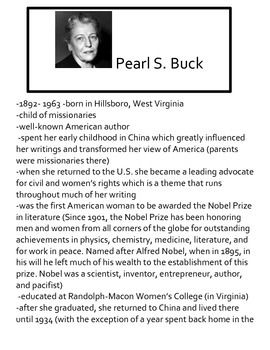 """""""Christmas Day In The Morning"""" by Pearl S. Buck Teaching Packet   Teaching, Great short stories ..."""