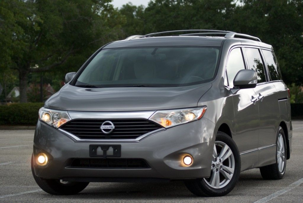 2012 Nissan Quest Sl The Interior Of This Vehicle Is Virtually